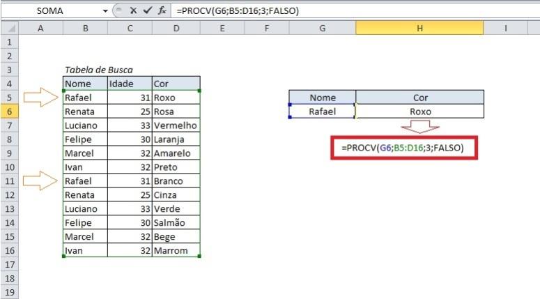 Excelmaníacos - Procv Invertido 1