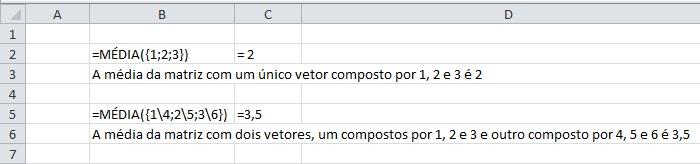 Exemplo Matrizes
